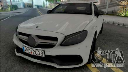 Mercedes-AMG C63 S Coupe 2016 for GTA San Andreas