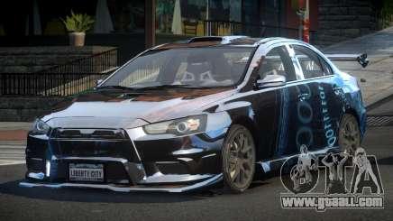 Mitsubishi Evo X SP S8 for GTA 4