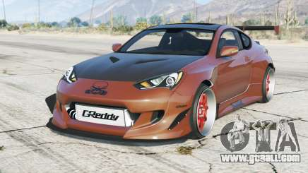 Hyundai Genesis Coupe 2013〡Rocket Bunny〡add-on for GTA 5