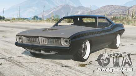 Plymouth Barracuda 1970〡Furious 7 v1.2.1 for GTA 5