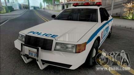 Vapid Stanier LCPD [SA Style] for GTA San Andreas