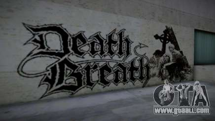 Horror Graffiti Around and road for GTA San Andreas