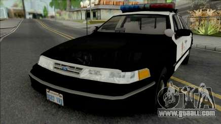Ford Crown Victoria 1995 CVPI LAPD for GTA San Andreas