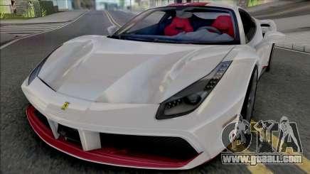 Ferrari 488 GTB 70th Anniversary for GTA San Andreas