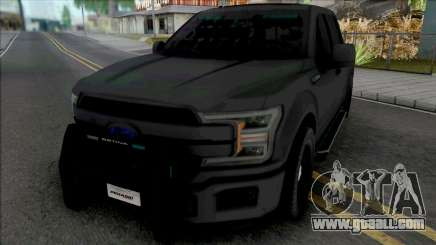 Ford F-150 Police Unmarked for GTA San Andreas