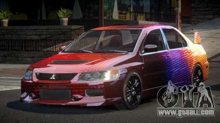 Mitsubishi Evo IX BS-U S5 for GTA 4