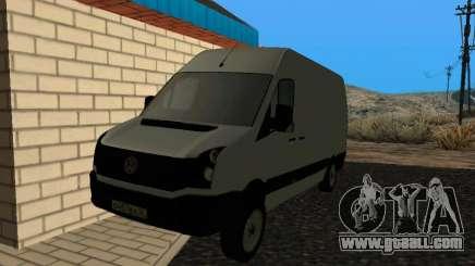 Volkswagen Crafter light - Cargo version for GTA San Andreas