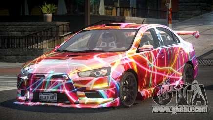 Mitsubishi Evo X SP S2 for GTA 4