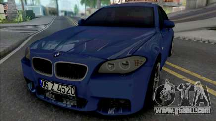 BMW F10 M Sport 520d 2011 for GTA San Andreas