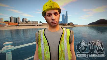 GTA Online Skin Construction Workers v1 for GTA San Andreas