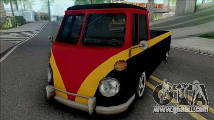 Camper Pickup for GTA San Andreas
