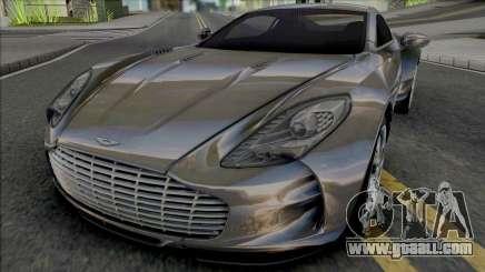 Aston Martin One-77 (Asphalt 8) for GTA San Andreas