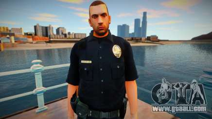 New lapd1 skin for GTA San Andreas
