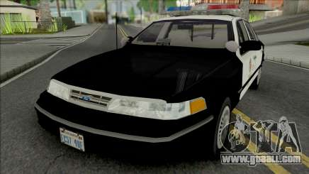 Ford Crown Victoria 1997 CVPI LAPD for GTA San Andreas