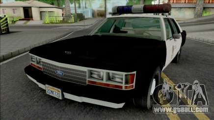 Ford LTD Crown Victoria 1991 LAPD for GTA San Andreas