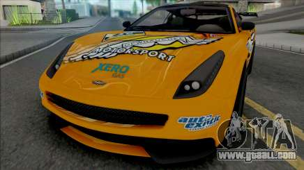 Dewbauchee Massacro [Racecar] for GTA San Andreas