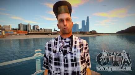 Wmybar in a shirt for GTA San Andreas
