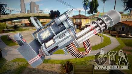 Minigun - Dead Rising 4 for GTA San Andreas