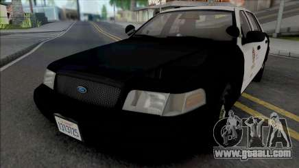 Ford Crown Victoria 2007 CVPI LAPD GND for GTA San Andreas