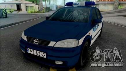 Opel Astra G Policya KSP for GTA San Andreas