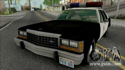Ford LTD Crown Victoria 1987 LAPD for GTA San Andreas