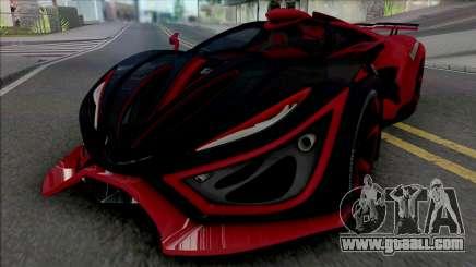 Inferno Exotic Car 2016 for GTA San Andreas