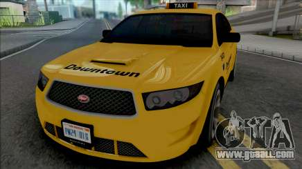 Vapid Torrence Taxi Downtown v2 for GTA San Andreas