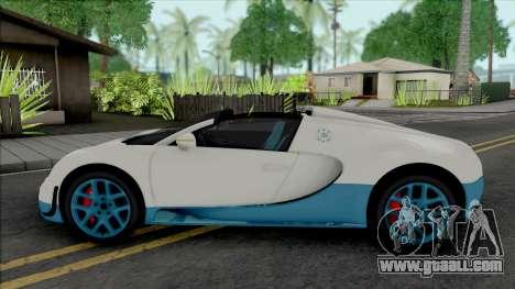 Bugatti Veyron Grand Sport Vitesse 2012 for GTA San Andreas