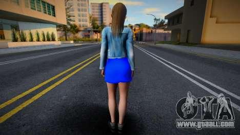 Misaki Casual v4 (good model) for GTA San Andreas