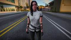 Female from Witcher 3 - Casual for GTA San Andreas