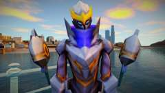 Skin Legend Granger StarFall Knight low poly ver for GTA San Andreas