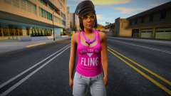 GTA Online Outfit Casino and Resort Taylor for GTA San Andreas