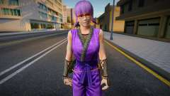 Dead Or Alive 5 - Ayane (Costume 2) 1 for GTA San Andreas