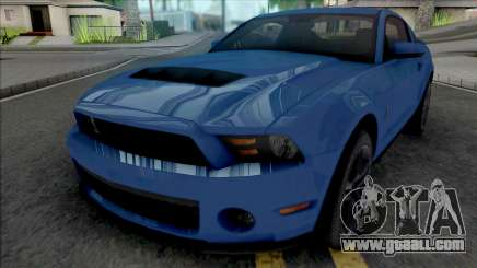 Ford Mustang Shelby GT500 2010 for GTA San Andreas