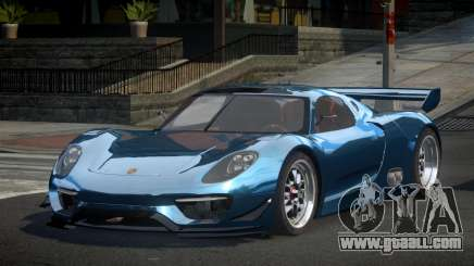 Porsche 918 GS-U for GTA 4