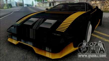 Quadra Turbo-R V-Tech Cyberpunk 2077 [SA Style] for GTA San Andreas
