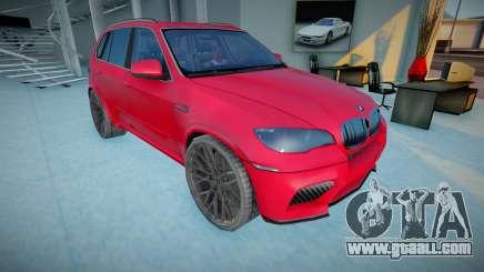 2011 BMW X5 M E70 for GTA San Andreas