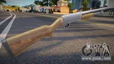 Remaster chromegun for GTA San Andreas