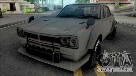 Nissan Skyline 2000 GT-R 1969 SpeedHunters for GTA San Andreas