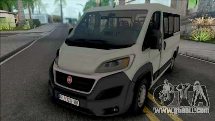 Fiat Ducato 2020 for GTA San Andreas