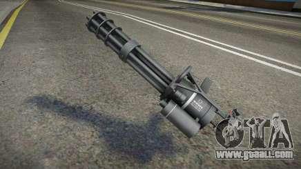 Quality Minigun for GTA San Andreas