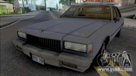 Chevrolet Caprice 1989 LAPD Unmarked for GTA San Andreas