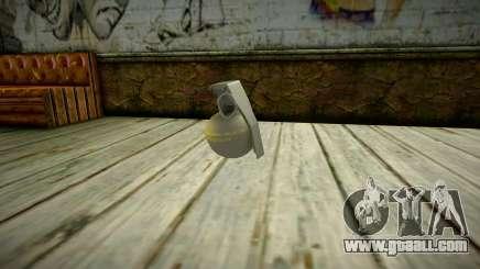 Quality Grenade for GTA San Andreas