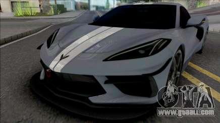 Chevrolet Corvette Stingray 2020 for GTA San Andreas