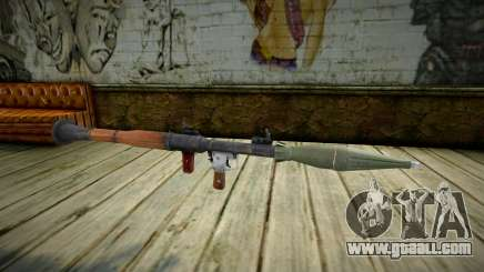 Quality RPG-7 for GTA San Andreas
