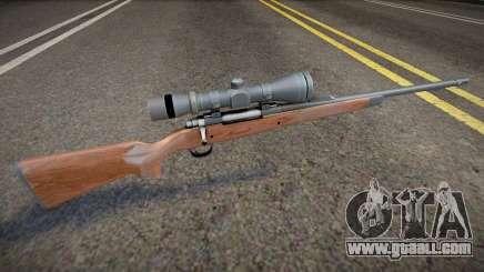 Remastered sniper for GTA San Andreas