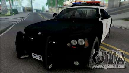 Dodge Charger 2007 LAPD for GTA San Andreas