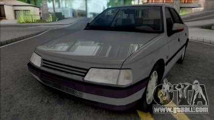 Peugeot 405 GLX Grey for GTA San Andreas