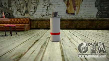 Quality Tear Gas for GTA San Andreas