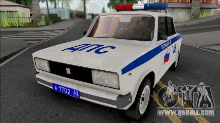 VAZ-2105 Police for GTA San Andreas